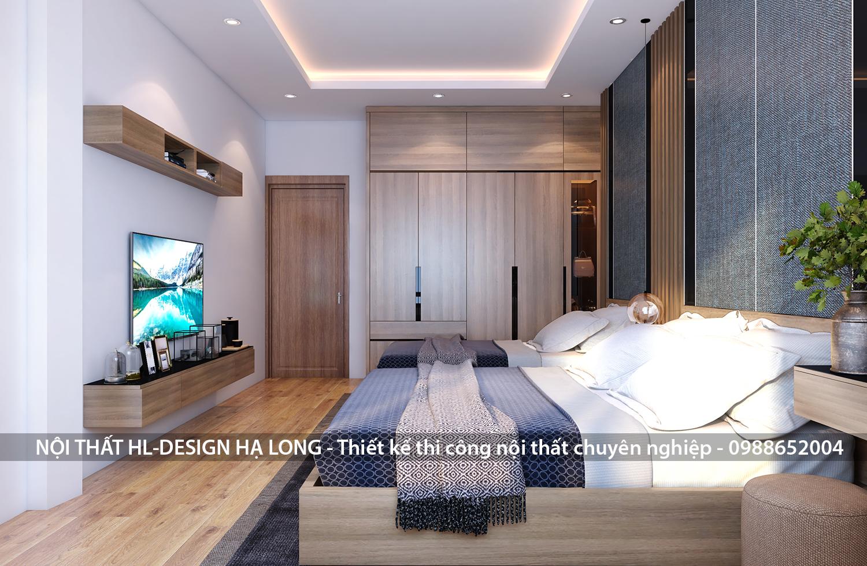Thiết kế nội thất phòng ngủ đẹp hạ long